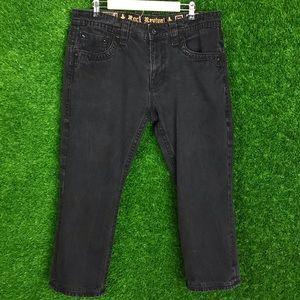 Rock Revival Steven Straight Cut Jeans Pants